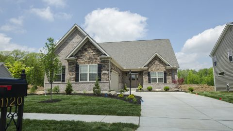 Design Homes and Development custom built exterior.
