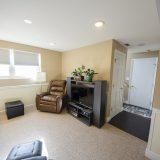 Design Homes, custom builder, outside listing basement.