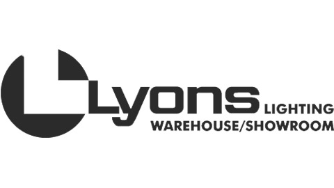 Lyons Lighting Showroom Logo