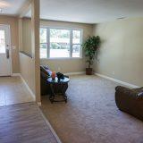 Design Homes, custom builder, outside listing family room.