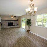 Design Homes, custom builder, outside listing great room.