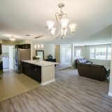 Design Homes, custom builder, outside listing kitchen.