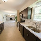 Design Homes, custom builder, outside listing kitchen.