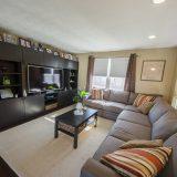 Design Homes, custom builder, outside listing living room.