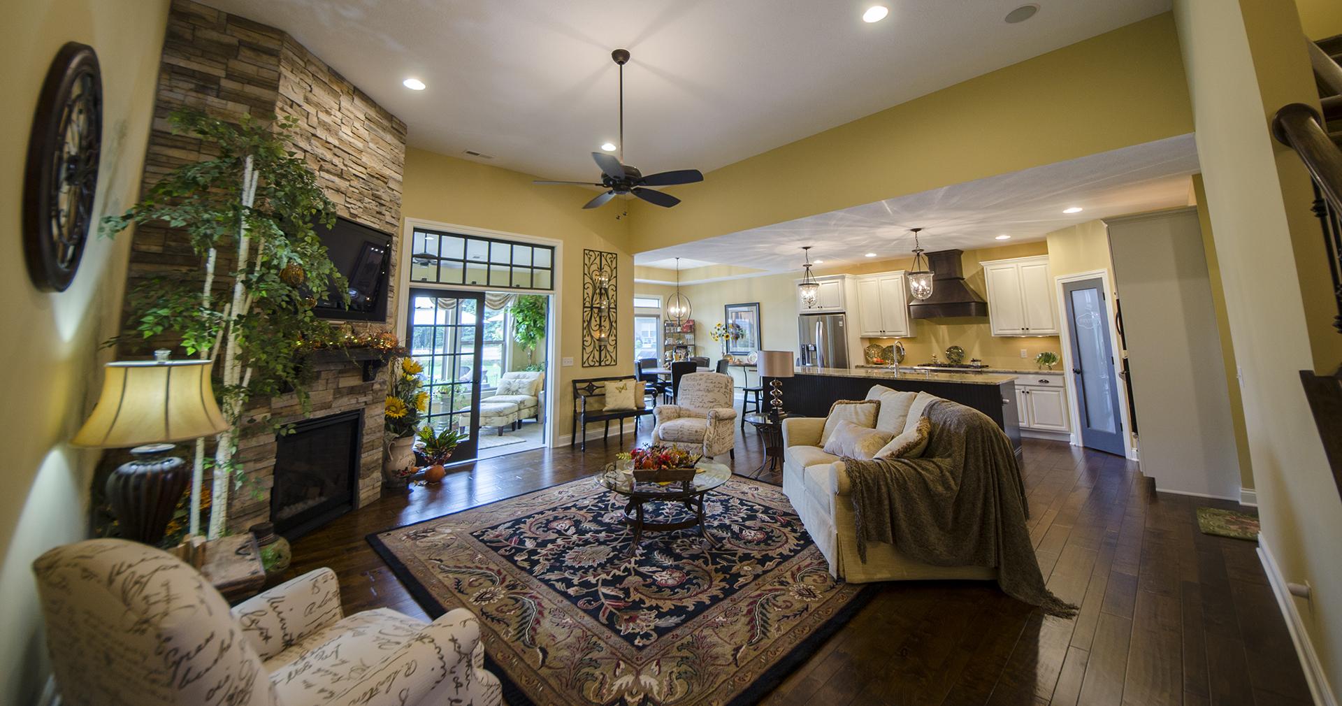 Custom, new home in Soraya Farms by Design Homes.