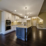 Custom kitchen in a home in Soraya Farms. Built by Design Homes.