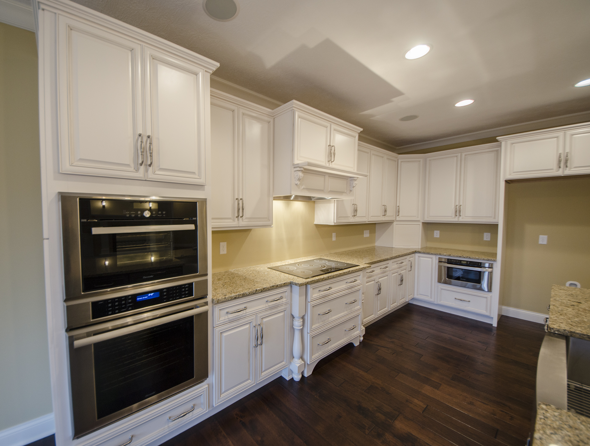 Custom kitchen in a home in Soraya Farms  Built by Design Homes. 9377 Avingnon Way   Centerville  Ohio   Design Homes