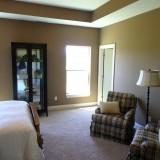Custom bedroom by Design Homes.