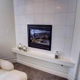 Custom master bedroom by Design Homes.