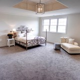 Custom master bedroom by Design Homes.