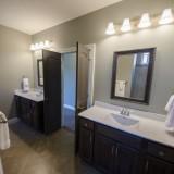 Custom master bath by Design Homes.