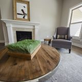 Custom great room in The Brighton. A move-in ready home by Design Homes and Development.