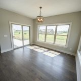 Custom nook in The Brighton. A move-in ready home by Design Homes and Development.