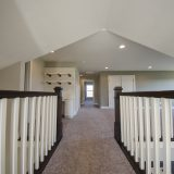 Custom hallway in The Charleston. A move-in ready home by Design Homes and Development.
