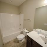 Custom bathroom by Design Homes in the Chianti.