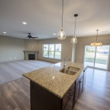 Custom kitchen by Design Homes in the Chianti.