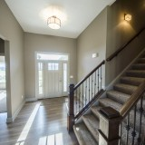 Custom entry by Design Homes, your South Dayton homebuilder.