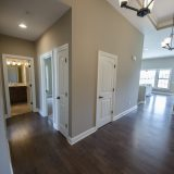 Custom entry of the Jackson. A custom move-in ready home by Design Homes and Development.