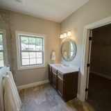 Custom master bathroom in the Jackson. A custom move-in ready home by Design Homes and Development.