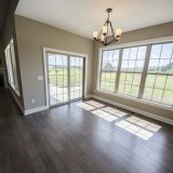 Custom nook in the Jackson. A custom move-in ready home by Design Homes and Development.
