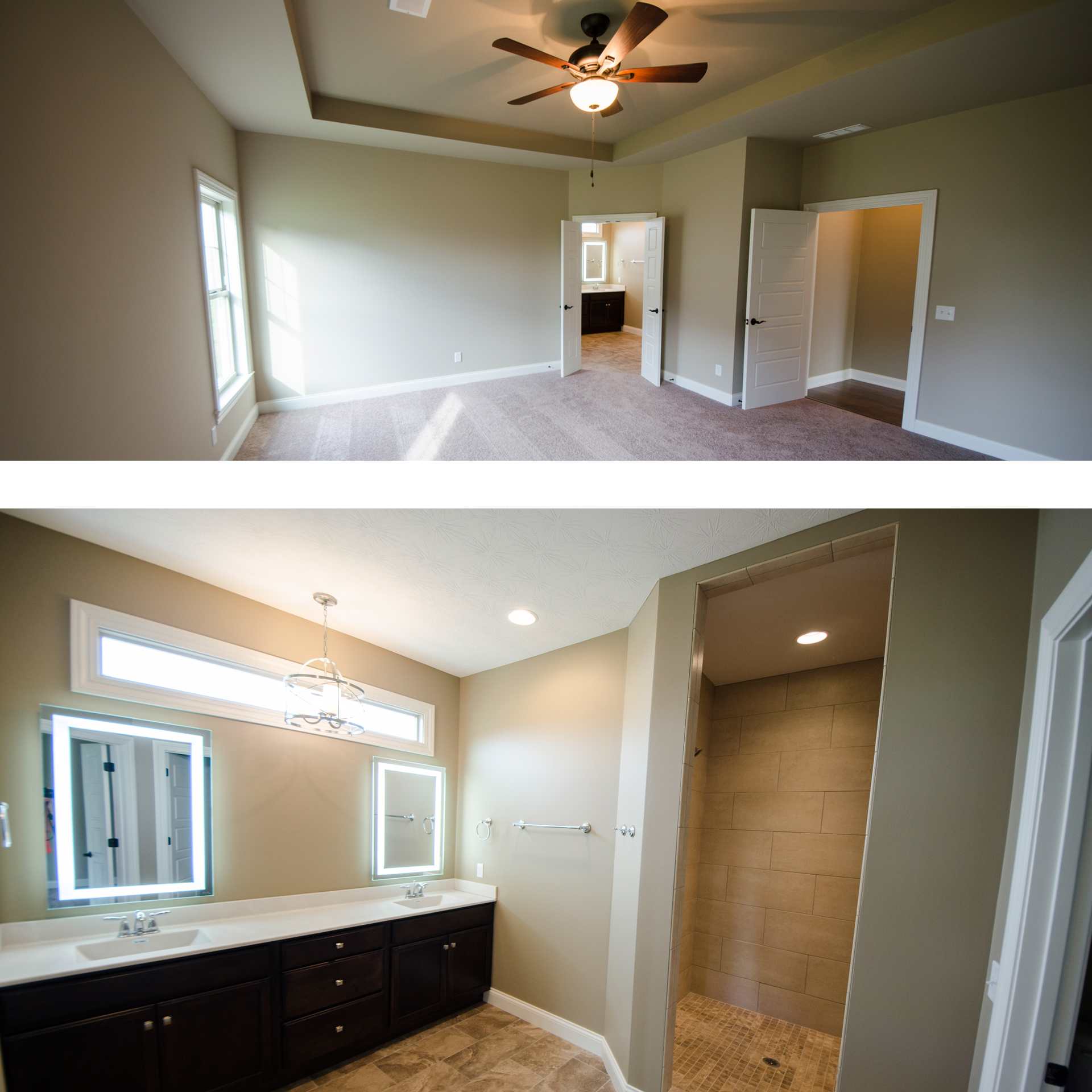 The Jocelyn custom home tour by Design Homes and Development.
