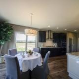 Custom master nook by Design Homes.