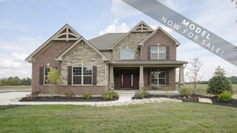 The Karilynn's custom exterior by Design Homes.