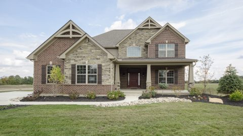 Custom built home by Design Homes & Development.