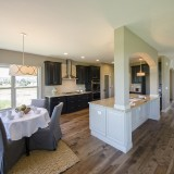 Custom master kitchen by Design Homes.