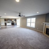 Custom family room by Design Homes in the Marlena.