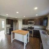 Custom kitchen by Design Homes in the Marlena.