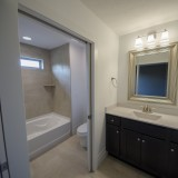 The Reese's custom bathroom by Design Homes.