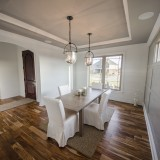 Custom Reese dining room by Design Homes.