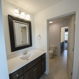 The Reese's custom jack and jill bathroom by Design Homes.
