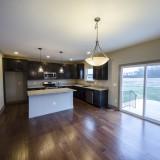 Custom breakfast room by Design Homes.