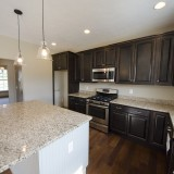 The Sarah custom kitchen by Design Homes.