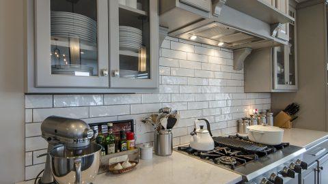 Custom kitchen in The Sierra, by Design Homes & Development.