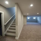 Custom basement of the Triple Crown by Design Homes.