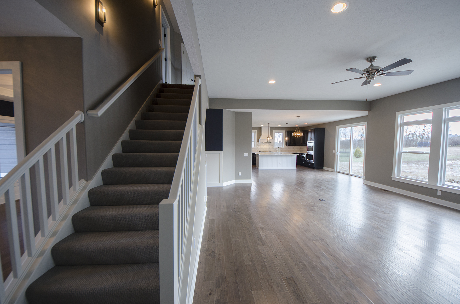 Charmant Custom Stairwell In The Triple Crown By Design Homes.