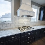 Custom cooktop in the Triple Crown by Design Homes.
