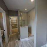 Custom master bathroom in the Triple Crown by Design Homes.