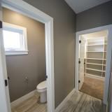 Custom master bathroom in the Triple Crown by Design Homes.