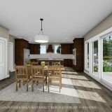 Custom nook of the Triple Crown in Cypress Ridge. By Design Homes & Development.