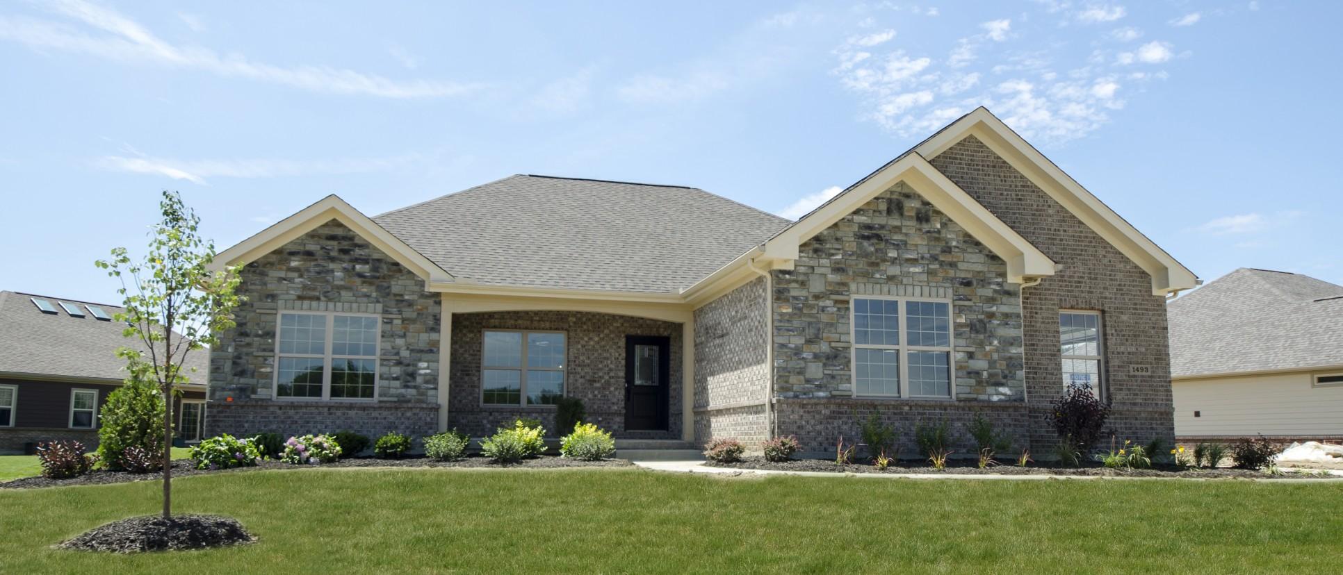 Exterior made custom by Design Homes.