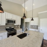 Custom kitchen by Design Homes.